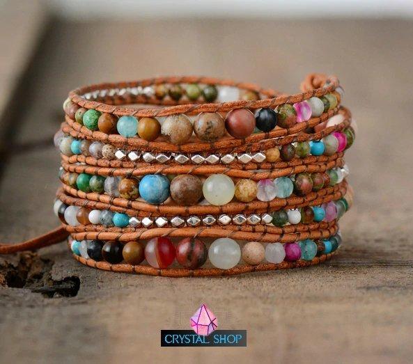 Multi Colored Bead Bracelet